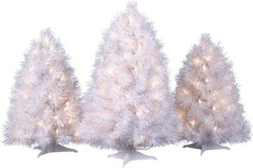 Albero di Natale bianco: idee chic per un'atmosfera magica in casa