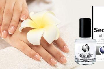 Seche Vite Dry Top Coat per perfezionare la manicure